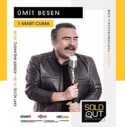 Ümit Besen Konseri – 1 Mart 2019