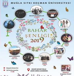 Sıtkı Koçman Üniversitesi Bahar Şenliği 2019