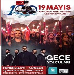 Gece Yolcuları Bandırma Konseri – 19 Mayıs 2019 – Ücretsiz