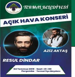 Resul Dindar Termal Konseri – 4 Temmuz 2019