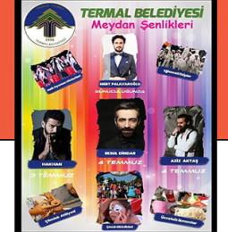 Termal Meydan Şenlikleri / 3 – 4 Temmuz 2019