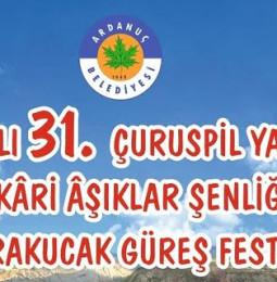 31.Çuruspil Yaylası Efkari Aşıklar Şenliği ve Karakucak Güreş Festivali 2019
