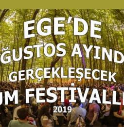 Ege'de Ağustos Ayında Gerçekleşecek Tüm Festivaller 2019