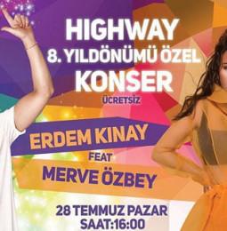 Merve Özbey ve Erdem Kınay Bolu Halk Konseri – 28 Temmuz 2019