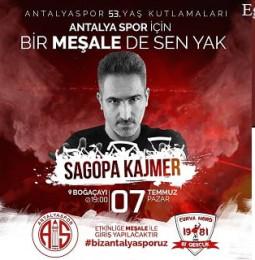 Sagopa Kajmer Antalya Halk Konseri – 07 Temmuz 2019 (Ücretsiz)