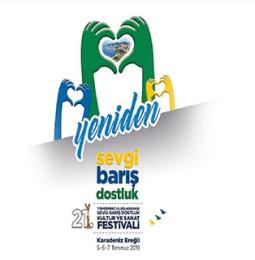21.Karadeniz Ereğli Sevgi Barış Dostluk Festivali 2019