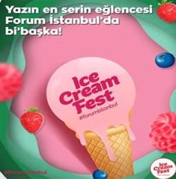 Forum İstanbul Ice Cream Fest | 13 – 21 Temmuz 2019