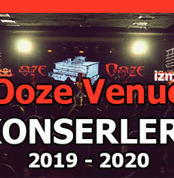 Ooze Venue İzmir Konser Programı