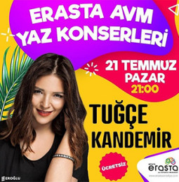 Tuğçe Kandemir Antalya Konseri – 21 Temmuz 2019