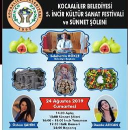 5.Kocaaliler İncir Kültür Sanat Festivali 2019