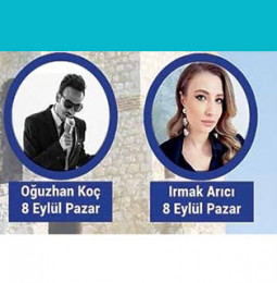 Irmak Arıcı ve Oğuzhan Koç Pınarhisar Konseri – 08 Eylül 2019