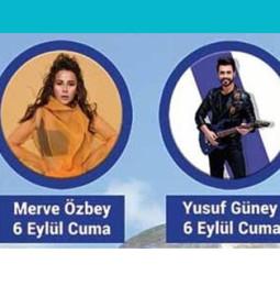 Merve Özbey ve Yusuf Güney Pınarhisar Konseri – 06 Eylül 2019