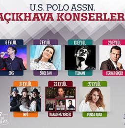 U.S. Polo Açıkhava Konserleri 2019