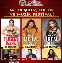 14.İlk Şeker Kültür ve Müzik Festivali 2019