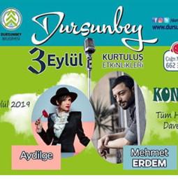 Aydilge & Mehmet Erdem Dursunbey Konseri – 3 Eylül 2019