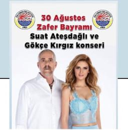 Suat Ateşdağlı & Gökçe Kırgız Dalaman Konseri – 30 Ağustos 2019