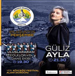 Güliz Ayla Köyceğiz Konseri – 29 Ağustos 2019