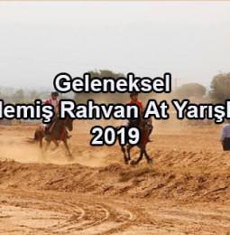 Geleneksel Ödemiş Rahvan At Yarışları 2019