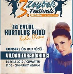 3.Bergama Zeybek Festivali ve Kurtuluş Günü Etkinlikleri 2019