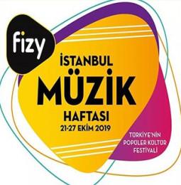 fizy İstanbul Müzik Haftası / 21 – 27 Ekim 2019