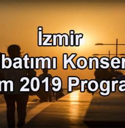 İzmir Günbatımı Konserleri Ekim Programı 2019