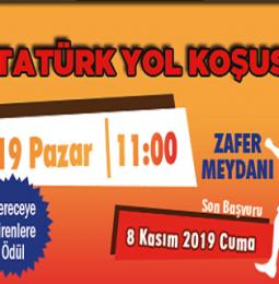 Afyon 10 Kasım Atatürk Yol Koşusu 2019