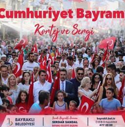 Bayraklı Cumhuriyet Yürüyüşü 2019