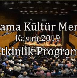 BerKM Etkinlik Programı Kasım 2019
