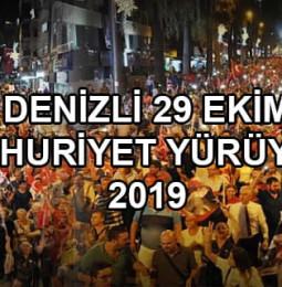 Denizli 29 Ekim Cumhuriyet Yürüyüşü 2019