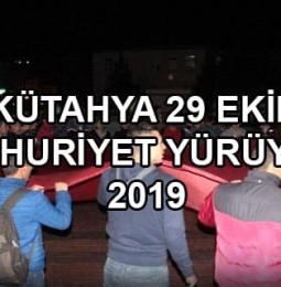 Kütahya 29 Ekim Cumhuriyet Yürüyüşü 2019