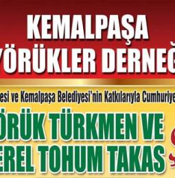 Kemalpaşa Yörük Türkmen ve Yerel Tohum Takas Şenliği 2019