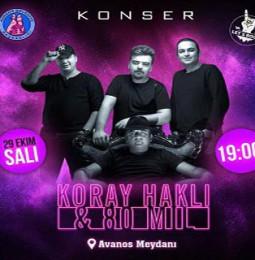 Koray Haklı ve 80 Mil Nevşehir Konseri – 29 Ekim 2019