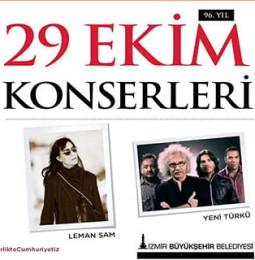 Leman Sam & Yeni Türkü Gündoğdu Meydanı Konseri 29 Ekim 2019