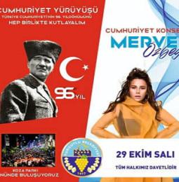 Merve Özbey Turgutlu Konseri – 29 Ekim 2019