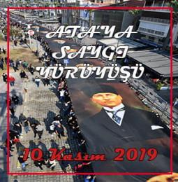 10 Kasım Ata'ya Saygı Yürüyüşü – İzmir 2019