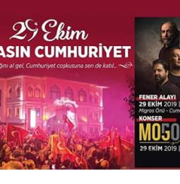 Moğollar Bandırma Cumhuriyet Konseri – 29 Ekim 2019