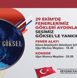 Göksel Adana Cumhuriyet Konseri – 29 Ekim 2019