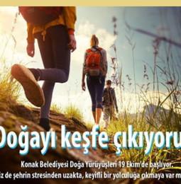 İzmir Ücretsiz Doğa Yürüyüşleri 2019 – 2020 Takvimi
