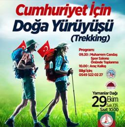 Karşıyaka Cumhuriyet için Doğa Yürüyüşü – 29 Ekim 2019