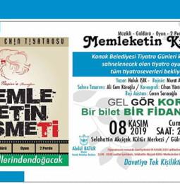 Memleketin Kısmeti Tiyatro Oyunu 8 Kasım'da İzmir'de!