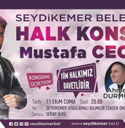 Mustafa Ceceli Seydikemer Konseri – 11 Ekim 2019