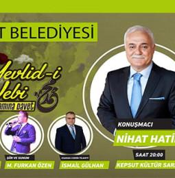 Nihat Hatipoğlu ile Mevlid-i Nebi – Kepsut – 13 Kasım 2019