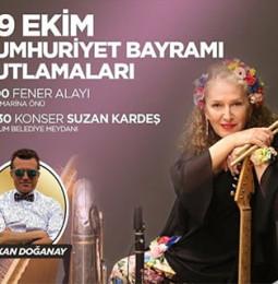 Suzan Kardeş Bodrum Cumhuriyet Konseri – 29 Ekim 2019