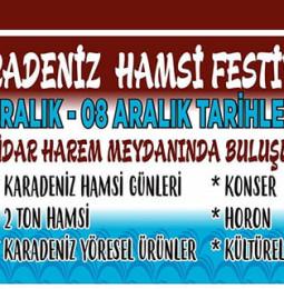 Üsküdar Hamsi Festivali // 4 – 8 Aralık 2019
