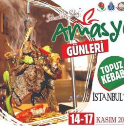 İstanbul'da Amasya Günleri 14 Kasım'da Başlıyor