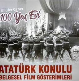 Muğla'da Atatürk Konulu Belgesel Gösterimleri 2019