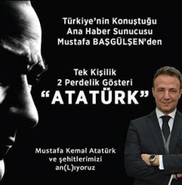 Mustafa Başgülşen Atatürk Oyun Turnesi 2019