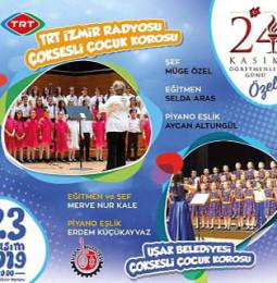 Uşak'ta Öğretmenler Günü Özel Konseri