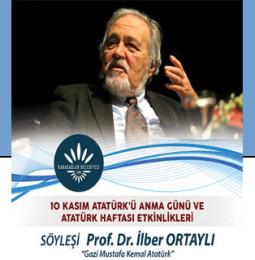 İlber Ortaylı Söyleşisi 10 Kasım'da Karabağlar'da!