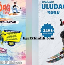 İzmir Çıkışlı Uludağ Turu Konaklamalı ve Günübirlik 2020